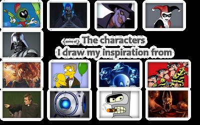 Des personnages qui m'inspirent...