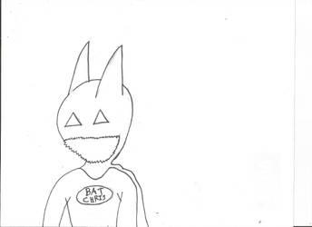 Bat-Chris rough! by Neko-Ryuu