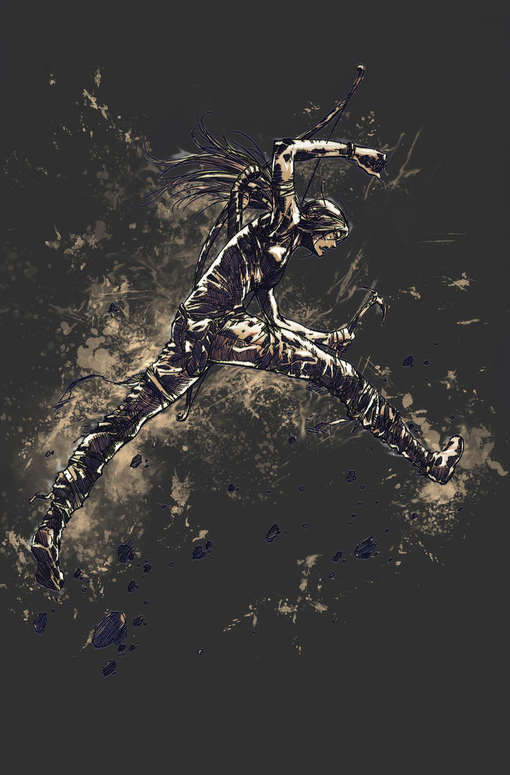 Tomb Raider Reborn Contest by IvanMina