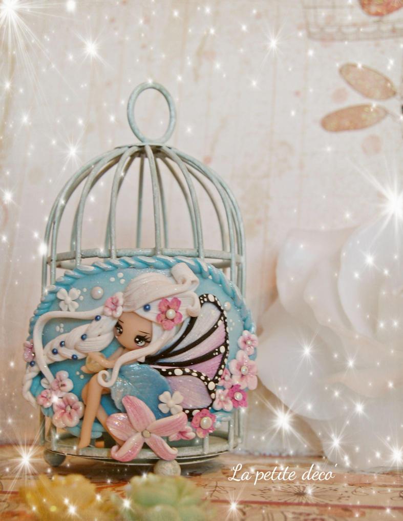 fairy bird cage by lapetitedeco