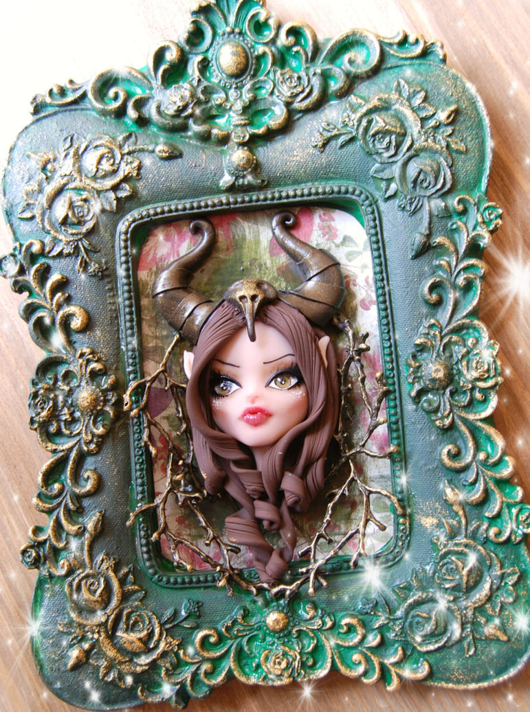 little maleficent fairy of fortest by lapetitedeco