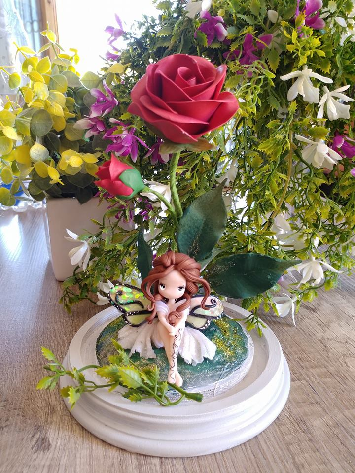 fairy and rose by lapetitedeco