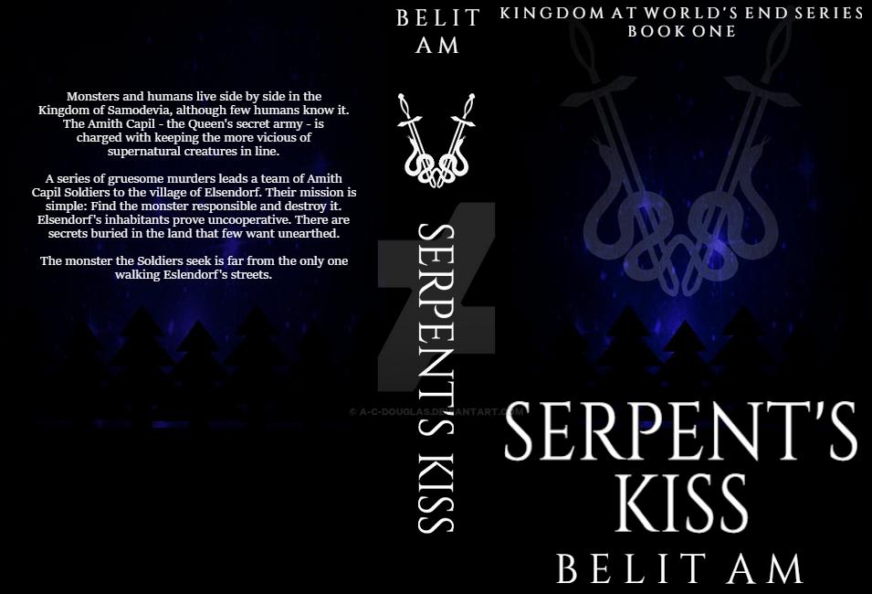 Serpent's Kiss - Book Jacket (Fanart Graphic) by A-C-Douglas