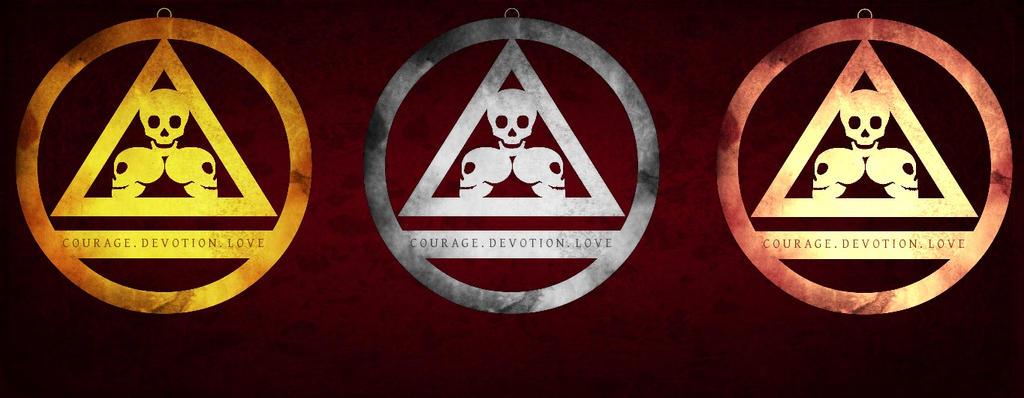 Skull Pendants Trilogy by A-C-Douglas