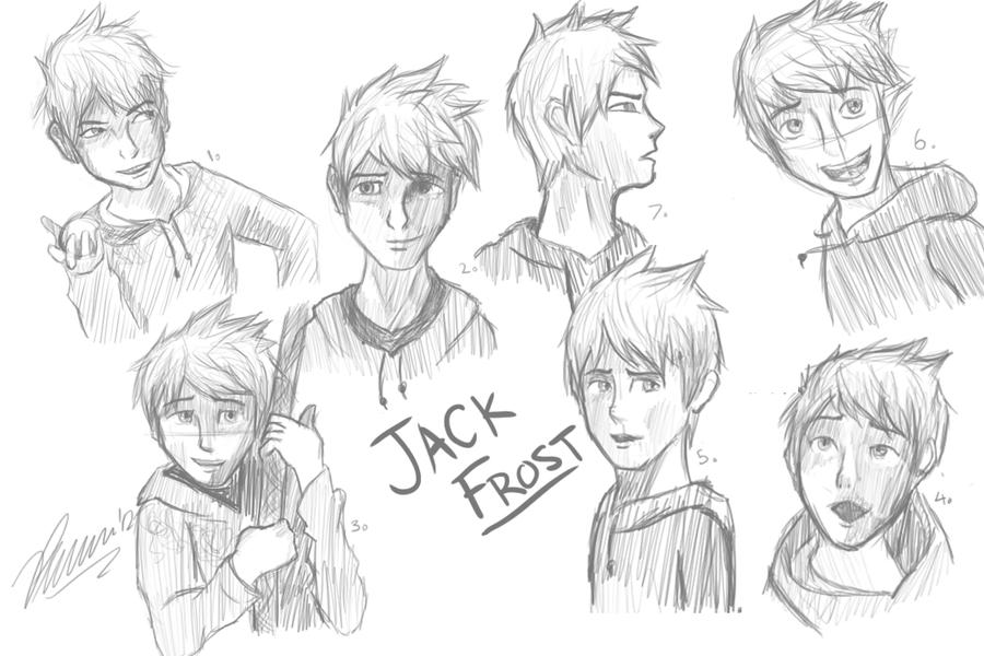 Jack Sketch Dump by AicaraTheWolf