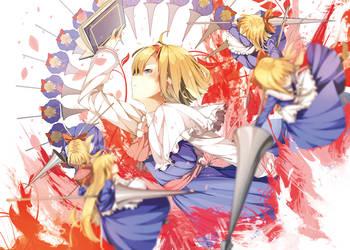 Alice margatroid by hurisuku
