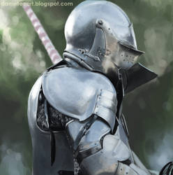 A knight study by Danielllee