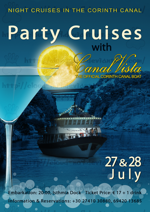 Party Cruises Flyer