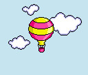 Fly up and away with a balloon by cloud-no9