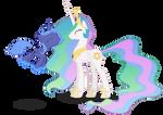 Luna and Celestia - BSBFF
