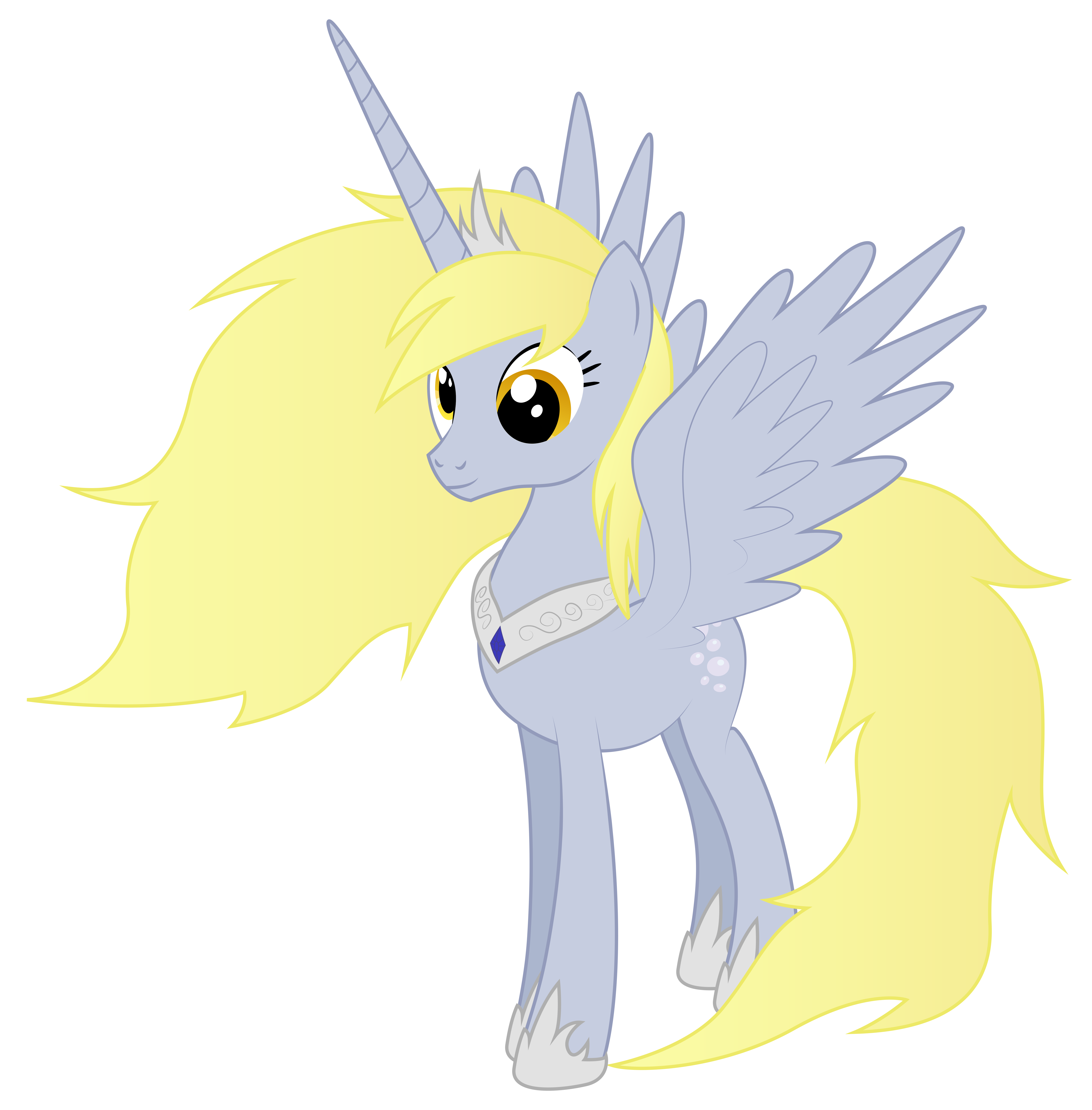 My little pony alicorn derpy