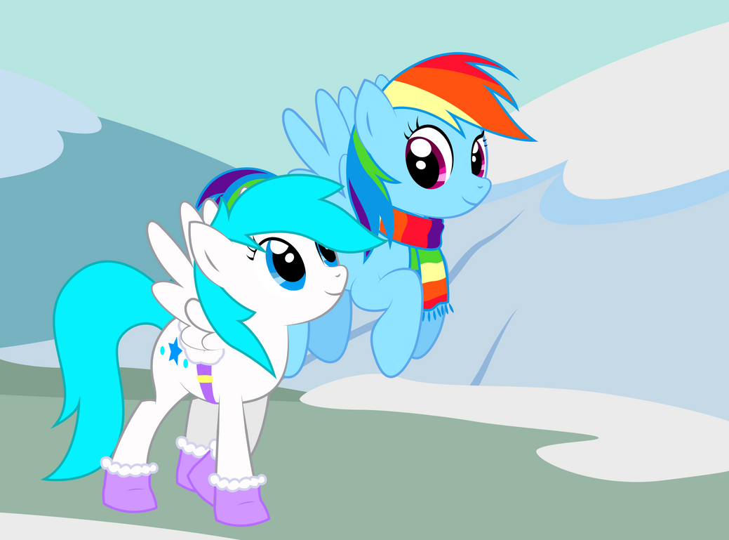 Request - Stroll Through the Snow by REPLAYMASTEROFTIME