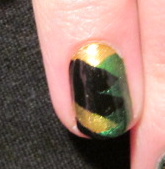 Loki Armor Nail Close Up by QueenAliceOfAwesome