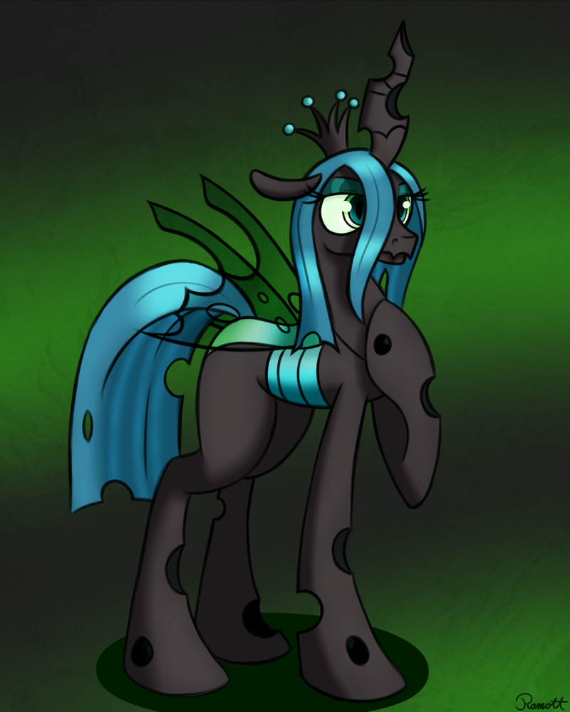 queen chrysalis hipster - photo #44