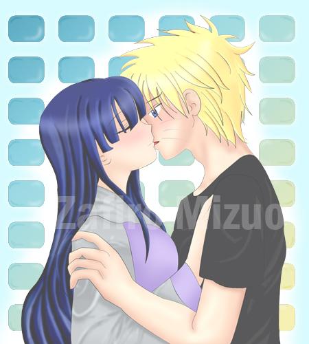 Naruto And Hinata Kiss By Naruhinafc On Deviantart