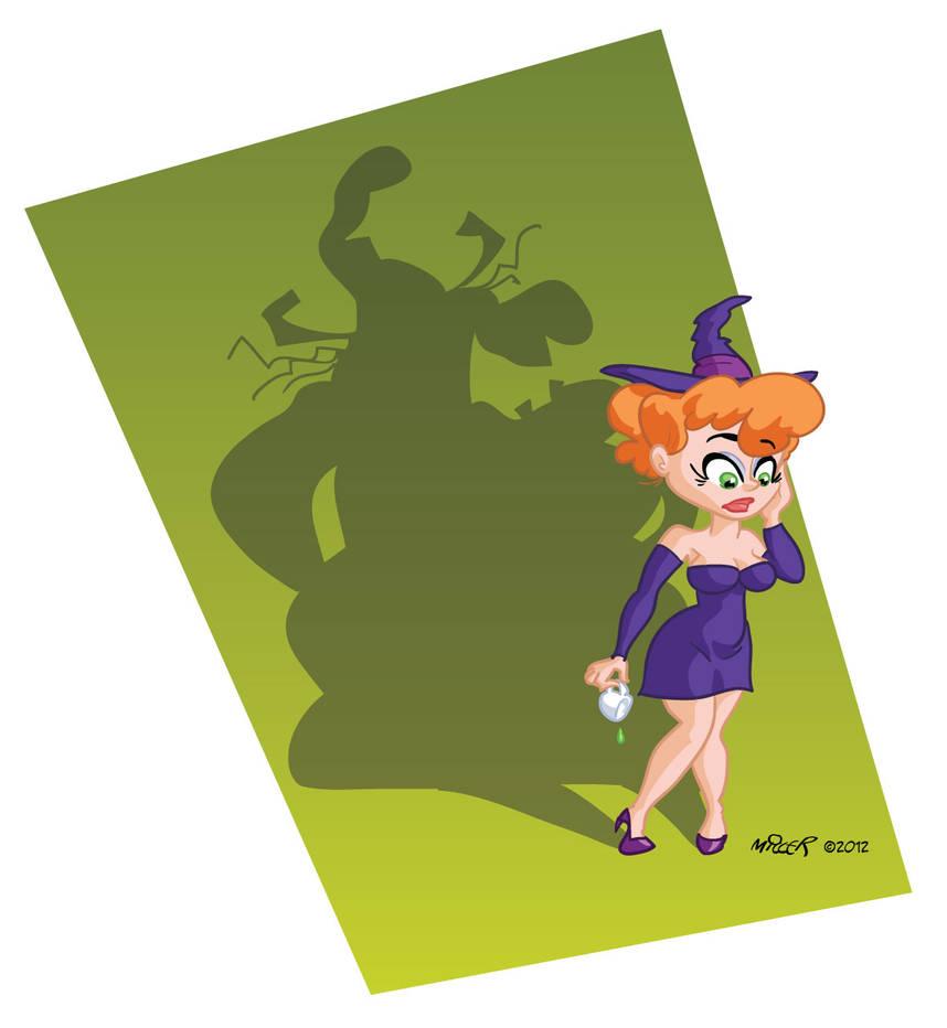 Broom Stick Bunny Mirror: Witch Hazel Beautified By Gamecreature On DeviantArt
