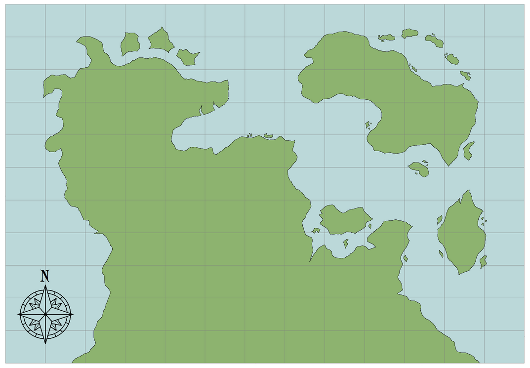 Blank world map talamh by zapphyre on deviantart blank world map talamh by zapphyre gumiabroncs Choice Image
