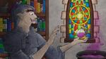 A Hobgoblin Alchemist with a Holy Symbol - Colours