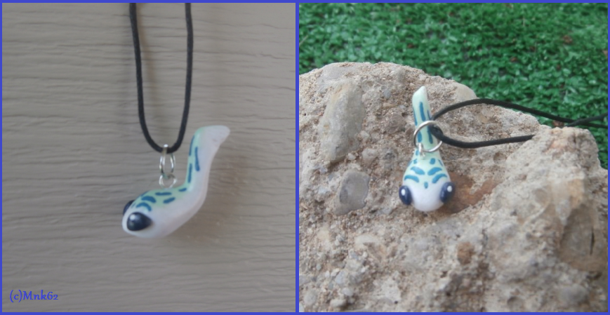 Legend Of Zelda Baby Zora Necklace by Monkiki62
