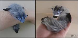 Posable Fox Dragon Plush