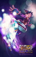 Juri for Fighting-Games-Elite by Sinhra