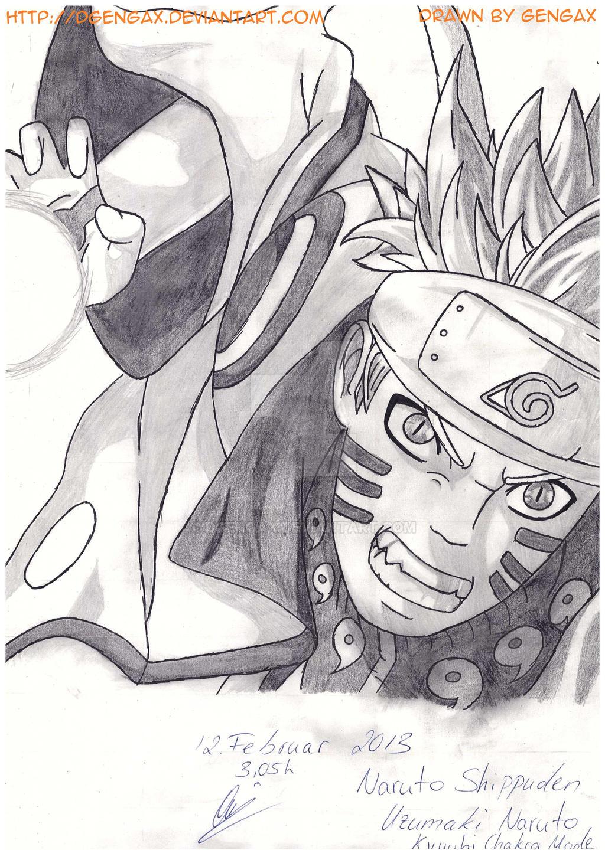 Uzumaki Naruto - Naruto Shippuden by DGengax
