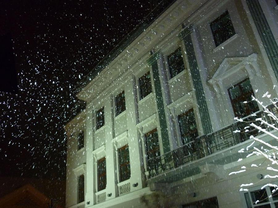 Falling snow, Lloyd
