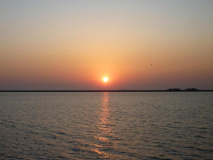 Sunrise over Lake Neusiedl