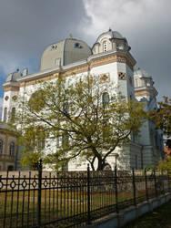 Synagogue, Gyor by glanthor-reviol