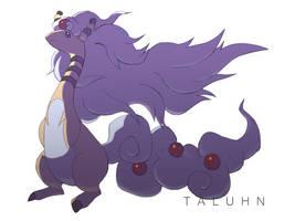 Mega Ampharos by taluhn