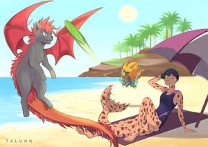 [COMM] Summer vacation