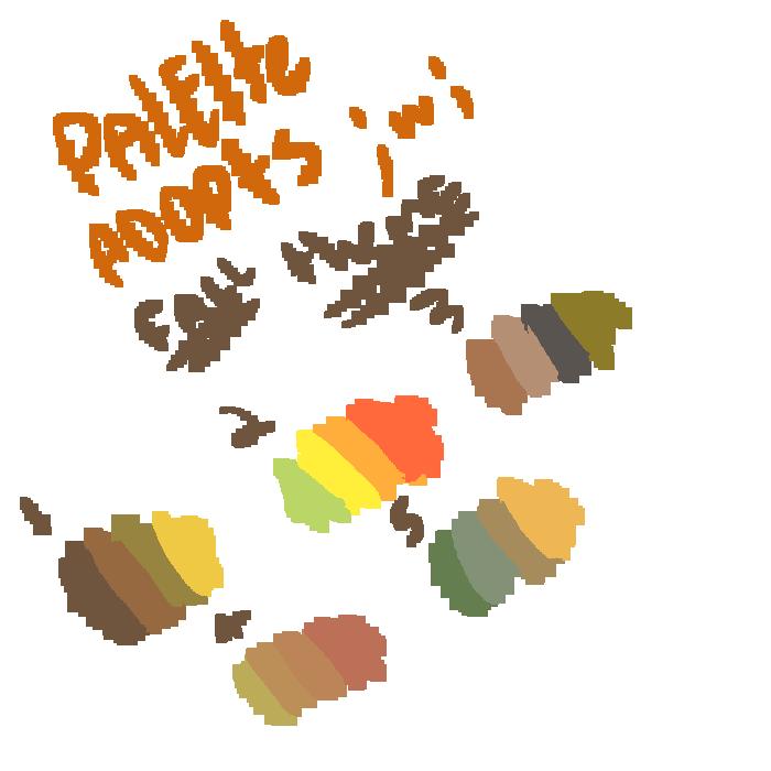 palette adopts fall theme by sexy-adoptsXD