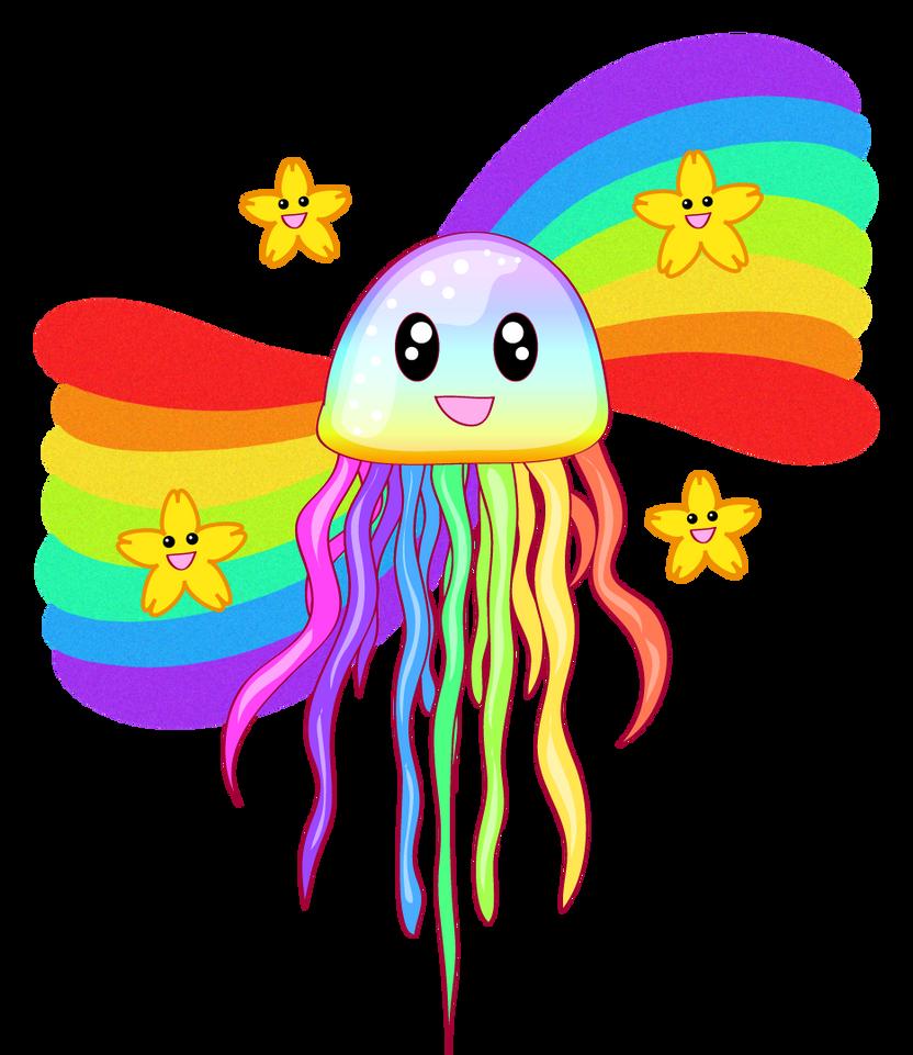 Rainbow Jelly by Piucca