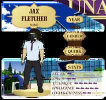 Jax - UNA App sheet
