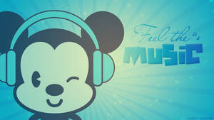 Wallpaper Feel the music