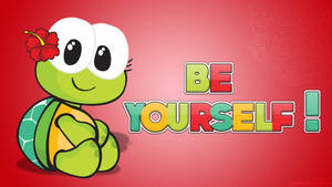 Wallpaper Be yourself