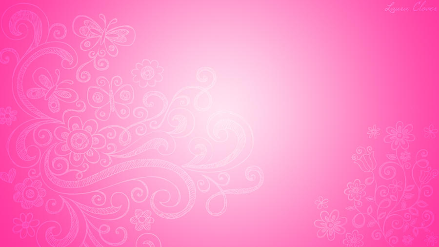 wallpaper pink fantasy by lauraclover on deviantart