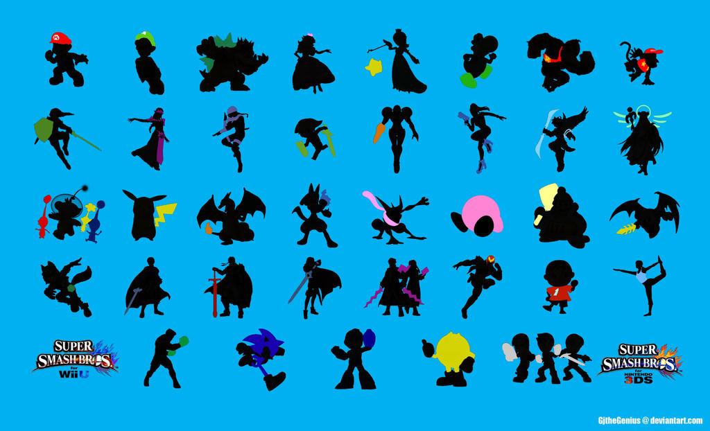 Super Smash Bros Wii U And 3DS Wallpaper Blue By GJtheGenius