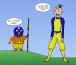 Aang and Pablo: wardrobe?