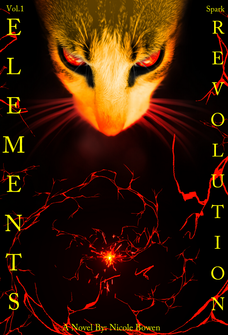 Elements Revolution Vol.1 Cover (Novels) by 3232WarriorFan3232
