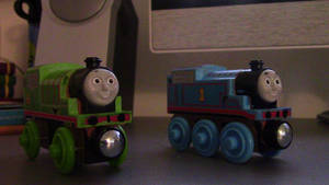 New And Improved Thomas And Percy by ThomasPokemon97