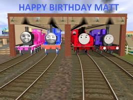 Happy Birthday Matt