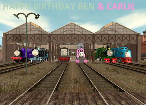 Happy Birthday Ben And Carlie