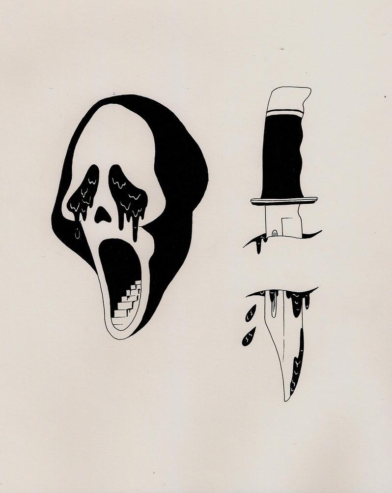 Halloween Theme Scream by xCitizenxErasedx