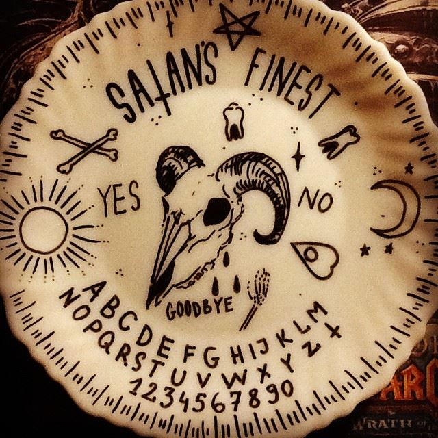 First ouija plate by xCitizenxErasedx