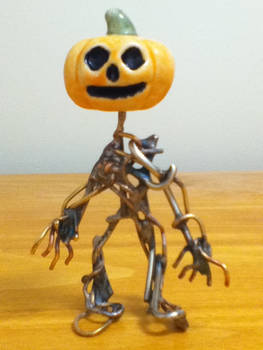 Homunculus Pumpkin Front View