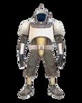Retrofuturistic Space Armor