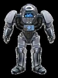 Soundwave Equalizer Visor Robot