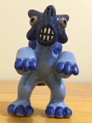 Blue Batnose Front View