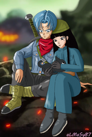 Stand by me - Trunks*Mai by almasy87